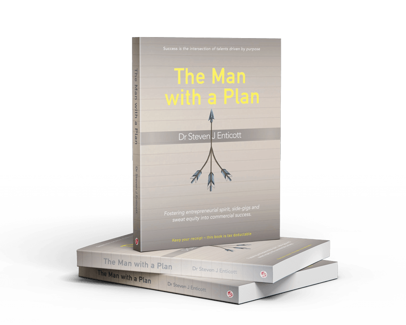 The Man with A Plan Steven J Enticott